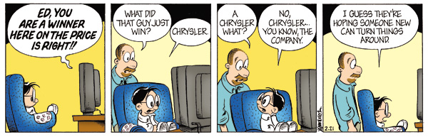 comic strip sample